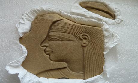 sand stone relief
