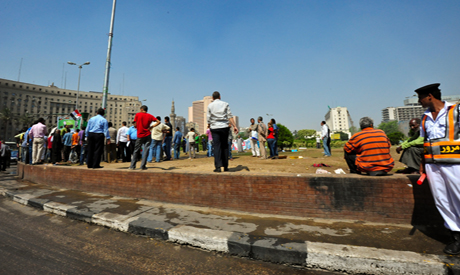 Tahrir Square on the morning of May 28th – Photo by Mohamed El Hebeishy