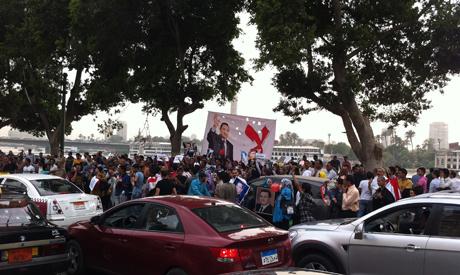 Pro-Mubarak rally