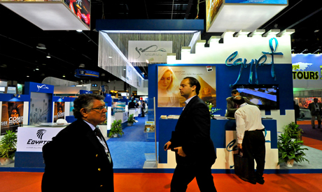 Egyptian Tourist Authority pavilion at the Arabian Travel Market – Photo by Mohamed El Hebeishy