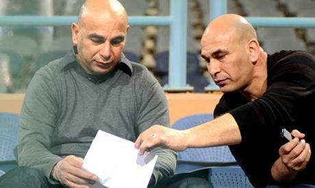 Hossam Hassan and Ibrahim Hassan