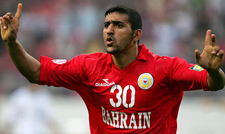 1d87fe766 Bahrain authorities reportedly sentenced national team player Mohammed  Hubail to two years in prison on Thursday.