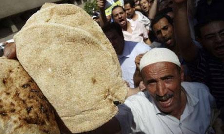 Bread protests