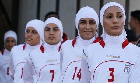 Iranian women football