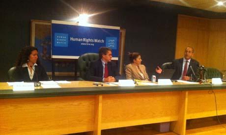 HRW press conference