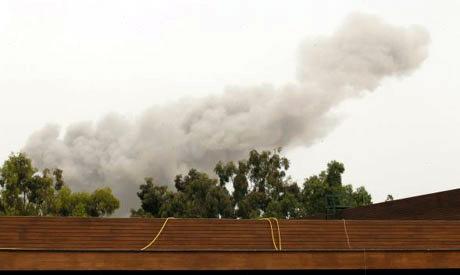 Libya daytime strikes