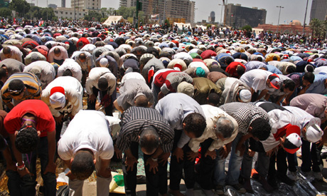 Friday's prayers