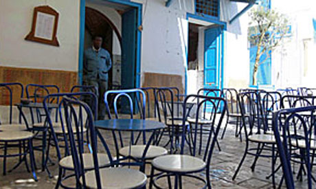 Tunisia cafe