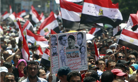 Egypt people are still angry (Photo Reuters)