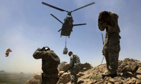 NATO and Afghan army kill Taliban insurgents (Reuters photo)