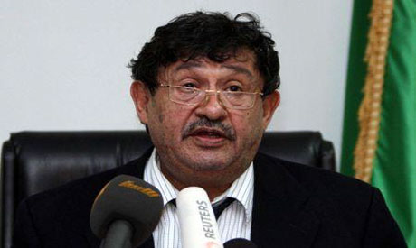 Libyan Foreign Minister Abdelati al-Obeidi (Reuters photo)