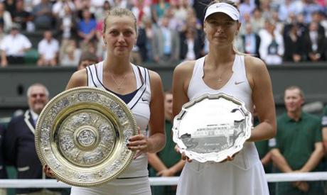 Kvitova & Sharapova