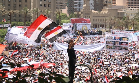 egyptian revolution 2011 summary