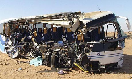 Abu Simbel bus crash