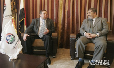 Russian acting Ambassador with Dr. Mohamed Morsi