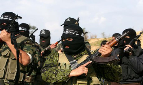Militants from the Popular Resistance Committees (PRC) train in Gaza
