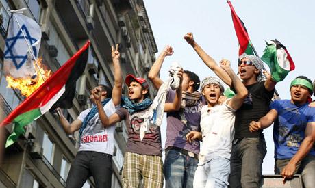 Israeli embassy protests