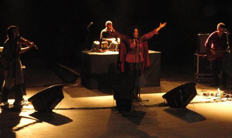 Susheela Raman concert in El Genaina Theatre
