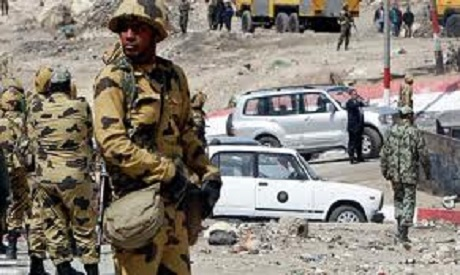 5 militants killed in Egypt's Sinai