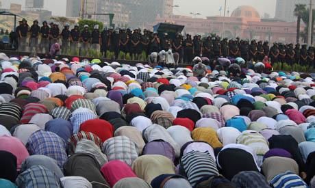 Eid prayers in tahrir