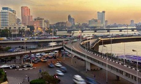 Cairo traffic jam