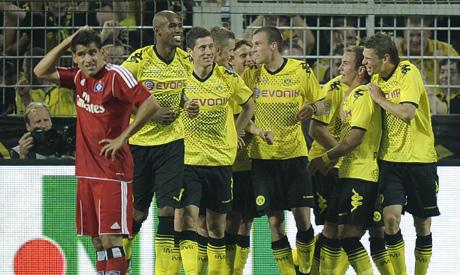 Dortmund players