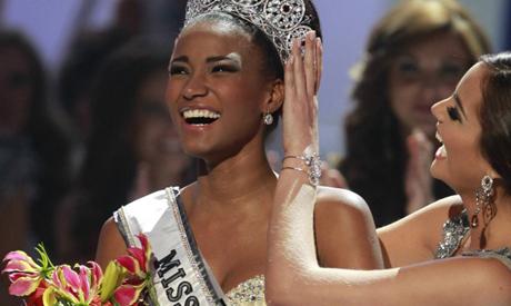 Miss Universe 2011, Leila Lopes representing Angola