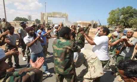 Anti-Gaddafi fighters