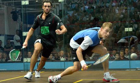 Ramy Ashour and Nick Matthew