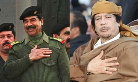 ex saddam tracker gaddafi not likely to leave libya region