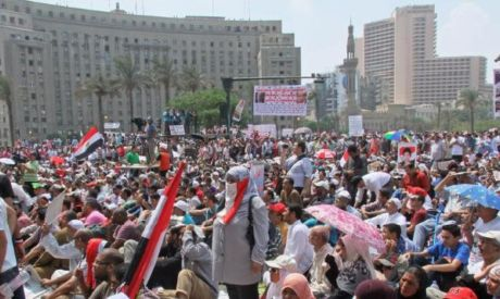 Friday protests in Tahrir (photo by: Mai Shaheen)