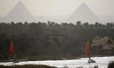 Nile near Cairo