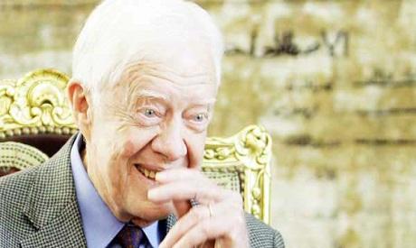 Former US president Carter