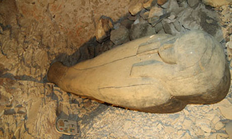 the sarcophagus