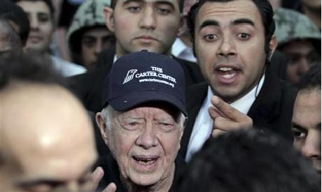 Former US president during his visit to Cairo (Photo by: Reuters)