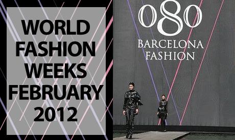 International Fashion Weeks February 2012
