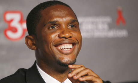 Eto o helps gabon open its half of african cup news can 2012
