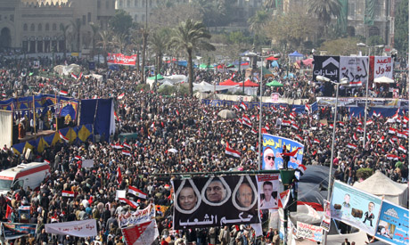 Tahrir Square Wednesday morning (Photo: Mai Shaheen)