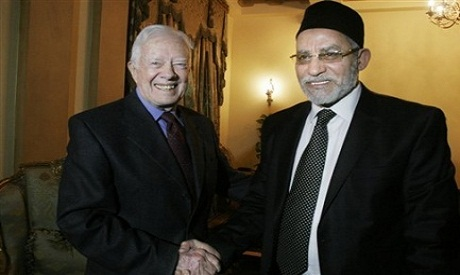 Jimmy Carter and Mohamed Badie