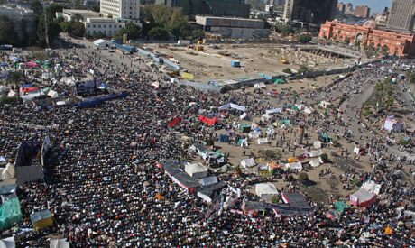 Tahrir Square during the Friday of Dignity (Photo: Mai Shaheen)