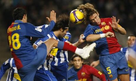 Espanyol V Barcelona