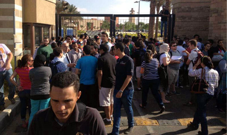 Students of the American University in Cairo