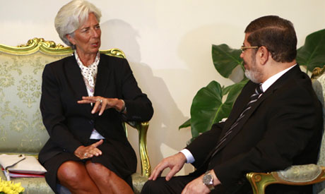 Egypt talks on $4.8 bln deal with IMF