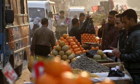 Egyptian street market