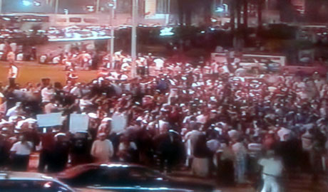 A Snap shot of Tahrir square now