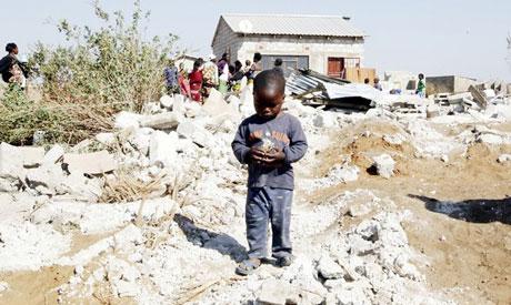 Zambian displaced