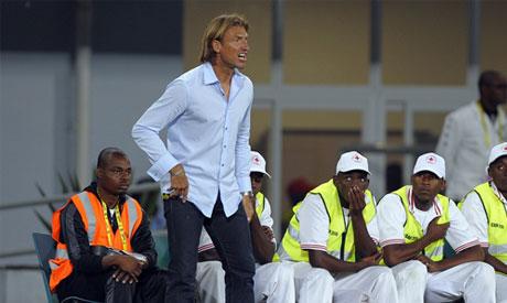 Coach Herve Renard of Zambia