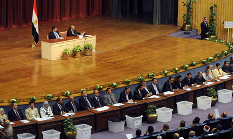 Row over the draft constitution