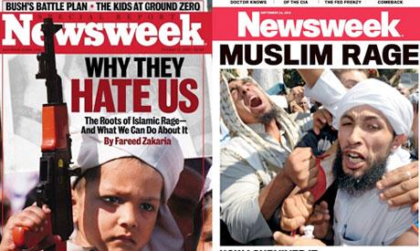 Newsweek covers
