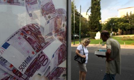 Investors lend EU bailout fund at negative rate